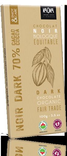Tablette Chocolat Noir 70% cacao